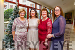 At the Recover Your Sparkle Christmas Lunch & Pampering Day in aid of Recovery Haven at Fels Point Hotel on Sunday were r-l  Christine Boyle, Phil Stack, Mary O'Donnell and Maureen O'Brien