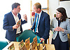 Tim Farron joins Vince Cable, Liberal Democrat Shadow Chancellor and candidate for Twickenham, on a visit to the HQ of Graze, one of the 100 fastest growing companies in the UK, <br /> <br /> The met Graze CEO Anthony Fletcher<br /> <br /> Tim Farron <br /> &amp; Sarah Olney MP <br /> <br /> Photograph by Elliott Franks <br /> Image licensed to Elliott Franks Photography Services