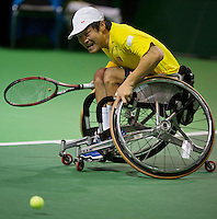 13-02-14, Netherlands,Rotterdam,Ahoy, ABNAMROWTT, Shingo Kunieda(JPN)<br /> Photo:Tennisimages/Henk Koster