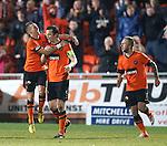 Jon Daly celebrates after scoring the equaliser