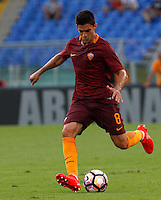 Calcio, Serie A: Roma vs Udinese. Roma, stadio Olimpico, 20 agosto 2016.<br /> Roma&rsquo;s Diego Perotti in action during the Italian Serie A football match between Roma and Udinese at Rome's Olympic Stadium, 20 August 2016. Roma won 4-0.<br /> UPDATE IMAGES PRESS/Riccardo De Luca