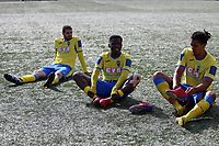 Haringey Players warm down during Haringey Borough vs Corinthian Casuals, BetVictor League Premier Division Football at Coles Park Stadium on 10th August 2019