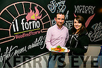 Il Forno Launch of New Menu Pictured Susanna Donoghue, Victory Fitness and Mike Moriarty, II Forno, Owner