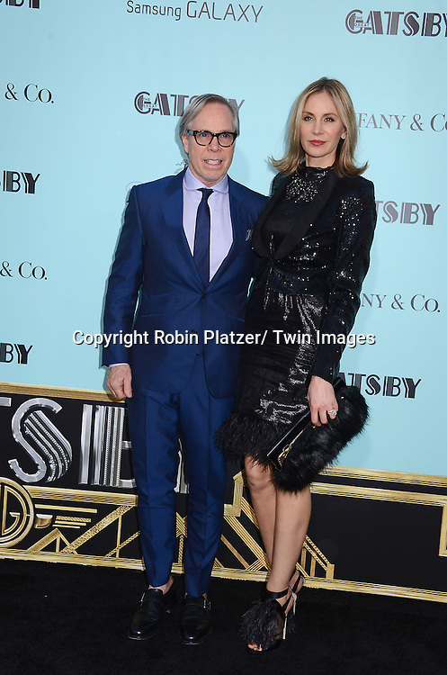 "Tommy and Dee Hilfiger attends the world Premiere of ""The Great Gatsby"" on  May 1, 2013 at Avery Fisher Hall in Lincoln Center in New York City. The movie stars Leonardo DiCaprio, Tobey Maguire, Carey Mulligan, Joel Edgerton, Isla Fisher, Amitabh Bachchan, Adelaide Clemens, Callan McAuliffe and Kate Mulvany. The movie was directed by Baz Luhrmann."