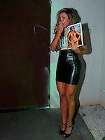 SAO PAULO, 09 DE AGOSTO DE 2012. LANCAMENTO DA REVISTA SEXY DA EX BBB FABIANA. A ex BBB, Fabiana Teixeira,  durante festa de lançamento da Revista Sexy em São Paulo . FOTO: ADRIANA SPACA - BRAZIL PHOTO PRESS