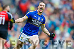 Stephen O'Brien Kerry celebrates his goal against  Mayo in the All Ireland Semi Final in Croke Park on Sunday.