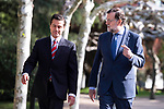 Spain's president Mariano Rajoy receive to president of United States of Mexico, Enrique Pena Nieto at Moncloa Palace in Madrid, Spain. April 25, 2018. (ALTERPHOTOS/Borja B.Hojas)