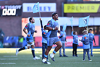 Nick Williams of Cardiff Blues during the Heineken Champions Cup Round 2 match between the Cardiff Blues and Glasgow Warriors at Cardiff Arms Park Stadium in Cardiff, Wales, UK. Sunday 21 October 2018