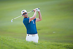 Rikard Karlberg from Sweden hits the ball during Hong Kong Open golf tournament at the Fanling golf course on 22 October 2015 in Hong Kong, China. Photo by Xaume Olleros / Power Sport Images