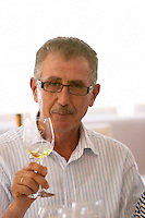 Yiannis Papadopoulos, owner. Wine Art Estate Winery, Microchori, Drama, Macedonia, Greece