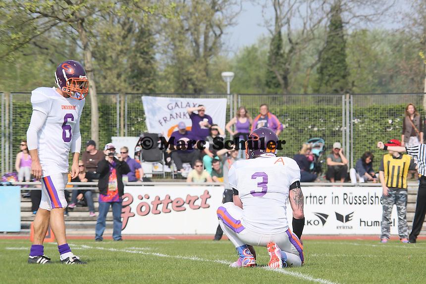 Ex-Eintrachtler Thomas Zampach steht als Kicker für Universe bereit