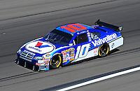 Feb 29, 2008; Las Vegas, NV, USA; NASCAR Sprint Cup Series driver Patrick Carpentier during practice for the UAW Dodge 400 at Las Vegas Motor Speedway. Mandatory Credit: Mark J. Rebilas-