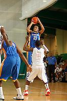 April 9, 2011 - Hampton, VA. USA;  Josh Fortune participates in the 2011 Elite Youth Basketball League at the Boo Williams Sports Complex. Photo/Andrew Shurtleff