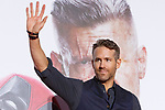 Canadian actor Ryan Reynolds greets to the audience during the Japan Premiere for his film Deadpool 2 on May 29, 2018, Tokyo, Japan. The second installment of the Marvel hit movie will be released in Japan onJune 1st. (Photo by Rodrigo Reyes Marin/AFLO)