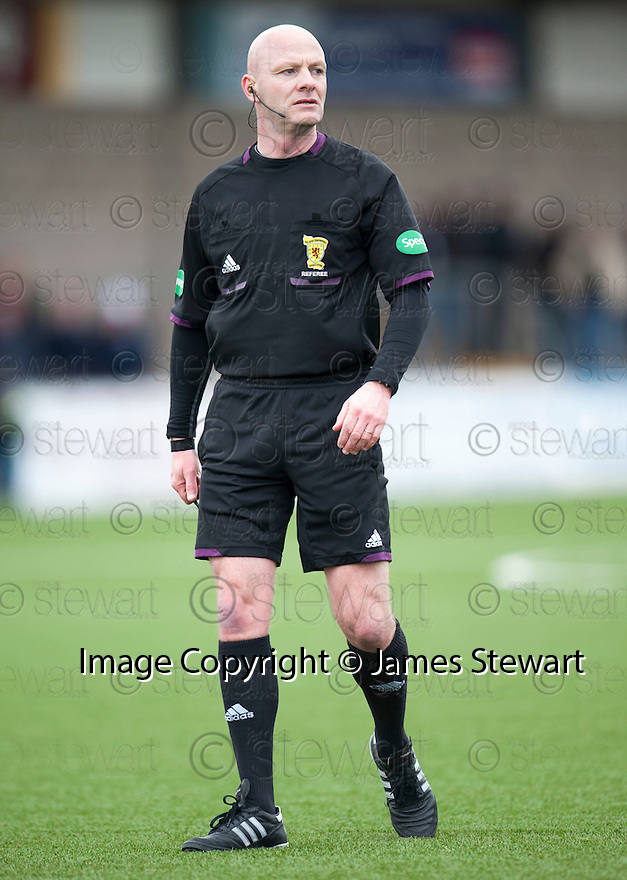 Referee Craig Charleston.