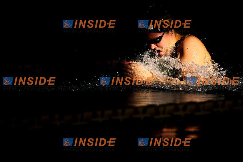 Arianna Castiglioni Fiamme Gialle<br /> Day02 50 Rana Donne <br /> Campionati Italiani Assoluti Nuoto Invernali Open Fin<br /> Riccione Italy 18-19/12/2015<br /> Photo Andrea Masini/Deepbluemedia/Insidefoto