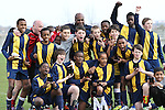 Royal Falcons v Rippleway - Under 12s B Division League Cup Final at Aveley FC 18 March 2012