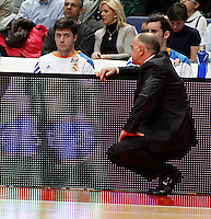 21/02/2014<br /> EUROLEAGUE BASKETBALL<br /> REAL MADRID - ZALGIRIS<br /> 8 MARTIN Guard (REAL MADRID)<br /> PABLO LASO Head Coach (REAL MADRID)