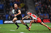 Simon Mannering.<br /> NRL Premiership rugby league. Vodafone Warriors v St George Illawarra. Mt Smart Stadium, Auckland, New Zealand. Friday 20 April 2018. &copy; Copyright photo: Andrew Cornaga / www.Photosport.nz