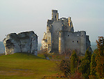Castle Mirow - Poland.<br /> The Mirow Castle - Built of limestone in the middle of the 14th century in the territory of the Polish Jura Chain, in the village of Mirow.