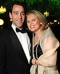 Drew and Julie Sudduth at the Gala on the Green benefitting the Discovery Green Conservancy Saturday Feb. 27,2010. (Dave Rossman Photo)