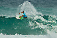 SUNSET BEACH, Oahu/Hawaii (Thursday, December 2, 2010) - Julian Wilson (AUS).   Brazilian Raoni Monteiro (BRA) became the first Brazilian in 20 years to take out the Men's division of the O'Neill World Cup of Surfing today. Julian Wilson (AUS) who won the Rookie of the Triple Crown and is leading the Triple Crown ratings finished in 2nd with Granger Larsen (HAW) in 3rd and  Josh Kerr (AUS) in 4th .Contest  Wildcard Tyler Wright (AUS), 16,  won the O'Neill Women's World Cup of Surfing, topping Sunset Beach local Coco Ho (HAW), 19, reigning four-time ASP Women's World Champion Stephanie Gilmore (AUS), 22, and ASP Women's World Tour No. 2 Sally Fitzgibbons (AUS), 19, in two-to-four foot (1 metre) surf at Sunset Beach. Wright was also named Women's Rookie of the Triple Crown..Photo: joliphotos.com
