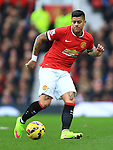 Marcos Rojo of Manchester United - Manchester United vs. Sunderland - Barclay's Premier League - Old Trafford - Manchester - 28/02/2015 Pic Philip Oldham/Sportimage