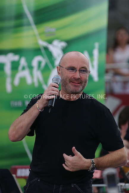 WWW.ACEPIXS.COM . . . . . ....June 23, 2006, New York City. ....Phil Collins performs on 'The Today Show'.....Please byline: KRISTIN CALLAHAN - ACEPIXS.COM.. . . . . . ..Ace Pictures, Inc:  ..(212) 243-8787 or (646) 769 0430..e-mail: info@acepixs.com..web: http://www.acepixs.com