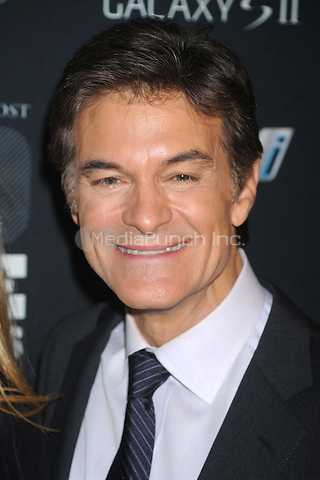 Dr. Mehmet Oz at the 2011 Game Changers Awards at Skylight SOHO on October 18, 2011 in New York City. Credit: Dennis Van Tine/MediaPunch