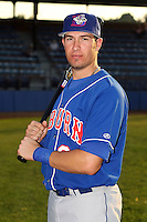 Sept. 6th, 2007:  J.P. Arencibia of the Auburn Doubledays, Class-A affiliate of the Toronto Blue Jays at Russell Diethrick Park in Jamestown, NY.  Photo by:  Mike Janes/Four Seam Images