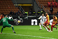 Antonio Candreva of Internazionale scores for his side <br /> Milano 13-1-2019 Stadio Giuseppe Meazza <br /> Football Italy Cup 2018/2019 Inter - Benevento 6-2 <br /> Foto Image Sport  / Insidefoto