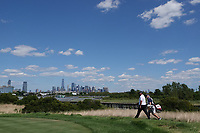 Shane Lowry (IRL) in action during the final round of the Northern Trust played at Liberty National Golf Club, Jersey City, USA. 11/08/2019<br /> Picture: Golffile | Phil INGLIS<br /> <br /> All photo usage must carry mandatory copyright credit (© Golffile | Phil INGLIS)