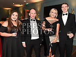 Sarah McAvinchey, Karl Murphy, Sharon Geoghegan and Dan Grennan at the Drogheda Business Excellence Awards in City North Hotel. Photo:Colin Bell/pressphotos.ie