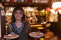 Europe/France/Rhône-Alpes/74/Haute-Savoie/Megève: Bar restaurant , crèperie: Les Marronniers - Chez Maria