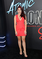 Erin Robinson at the premiere for &quot;Atomic Blonde&quot; at The Theatre at Ace Hotel, Los Angeles, USA 24 July  2017<br /> Picture: Paul Smith/Featureflash/SilverHub 0208 004 5359 sales@silverhubmedia.com