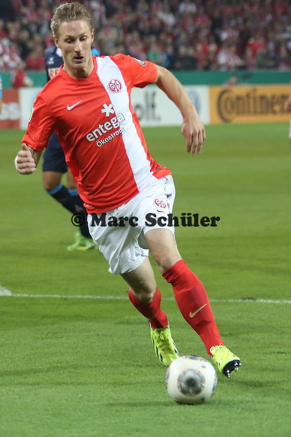 Sebastian Polter (Mainz) - 1. FSV Mainz 05 vs. 1. FC Köln, Coface Arena, 2. Runde DFB-Pokal