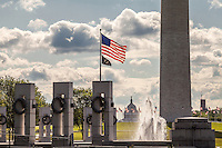 WWII Memorial and US Capitol Washngton DC<br /> Washington DC Photography