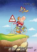 Fabrizio, Comics, CUTE ANIMALS, LUSTIGE TIERE, ANIMALITOS DIVERTIDOS, comic, paintings+++++,ITFZ35,#ac#, EVERYDAY