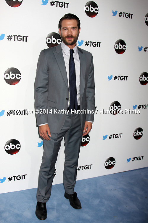 LOS ANGELES - SEP 20:  Charlie Weber at the TGIT Premiere Event for Grey's Anatomy, Scandal, How to Get Away With Murder at Palihouse on September 20, 2014 in West Hollywood, CA