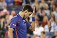 Novak Djokovic (SRB).New York 10/09/2012 Tennis - US Open Grande Slam.Foto Insidefoto /Virginie Bouyer / Panoramic.ITALY ONLY.
