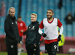 Leon Clarke of Sheffield Utd warm up during the Championship match at Villa Park Stadium, Birmingham. Picture date 23rd December 2017. Picture credit should read: Simon Bellis/Sportimage