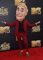 Mike Posner @ the 2016 MTV Movie Awards held @ the Warner studios.<br /> April 9, 2016