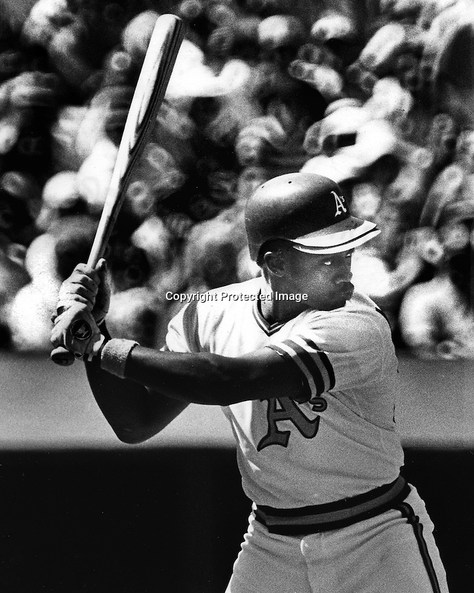 A's Gary Alexander (1978 photo by Ron Riesterer)