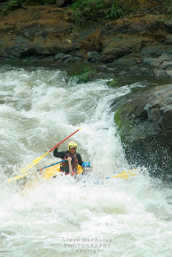 """Fear"" rapid, Chiriqui Viejo River, Panama"