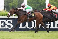10.05.2020, Hoppegarten, Brandenburg, Germany;  Rubaiyat with Andrasch Starke up wins the Dr Busch Memorial