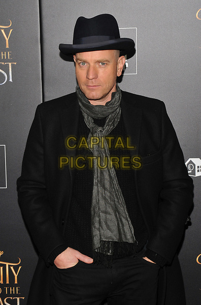 NEW YORK, NY - March 13 : Ewan McGregor attends the 'Beauty And The Beast' New York screening at Alice Tully Hall, Lincoln Center on March 13, 2017 in New York City.<br /> CAP/MPI/JP<br /> &copy;JP/MPI/Capital Pictures