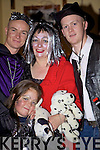 Fancy that: Declan, BiBi and Christopher Brosnan and Alana O'Connor from Mountcollins pictured at the fancy dress party held in Tommy Mick's Bar Mountcollins last Sunday night.