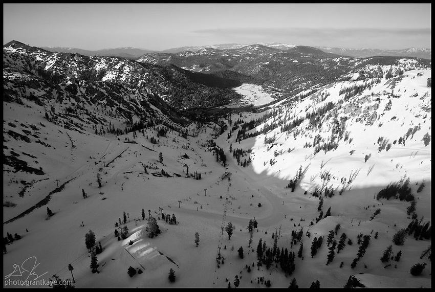 Aerial shots of Squaw