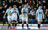 Blackburn Rovers players react to going 2-0 down<br /> <br /> Photographer Alex Dodd/CameraSport<br /> <br /> Emirates FA Cup Third Round Replay - Blackburn Rovers v Newcastle United - Tuesday 15th January 2019 - Ewood Park - Blackburn<br />  <br /> World Copyright © 2019 CameraSport. All rights reserved. 43 Linden Ave. Countesthorpe. Leicester. England. LE8 5PG - Tel: +44 (0) 116 277 4147 - admin@camerasport.com - www.camerasport.com