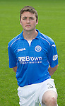 St Johnstone FC 2014-2015 Season Photocall..15.08.14<br /> Tom Scobbie<br /> Picture by Graeme Hart.<br /> Copyright Perthshire Picture Agency<br /> Tel: 01738 623350  Mobile: 07990 594431